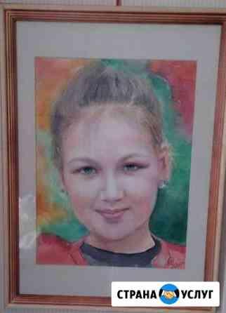 Портрет акварелью Тула