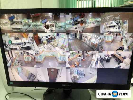 Видеонаблюдения, домофоны, контроль доступа Ачинск