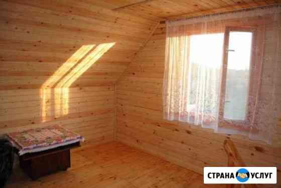 Бригада плотников из Беларуси Тосно