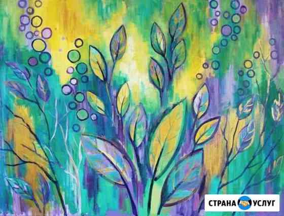 Интерьерные картины, интерьерная роспись Кострома