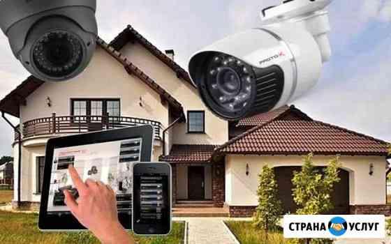 Установка видеонаблюдения Яблоновский