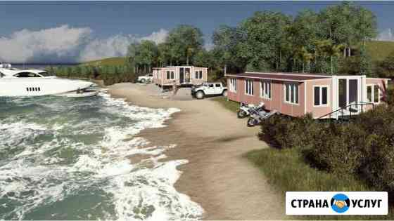 Проект мобильного дома-трансформера «Альтаир» Владивосток