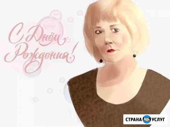 Портрет, рисунок Липецк