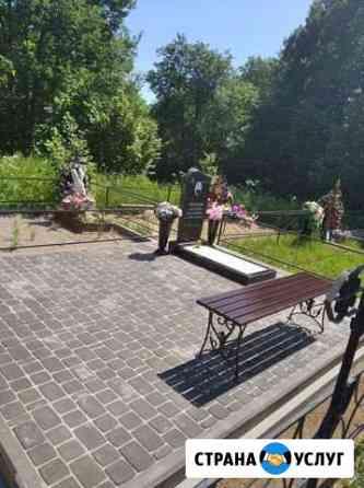 Облагораживание мест захоронения Смоленск