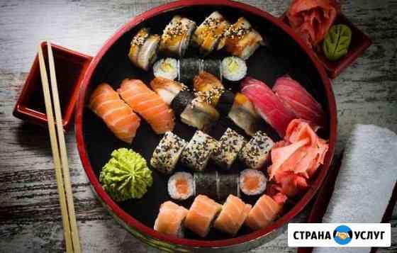 Японская кухня, суши, роллы, основное меню Томск