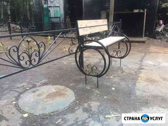 Оградки,скамейки,столики,ворота,заборы,коптильни,м Петрозаводск