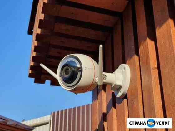 Видеонаблюдение и домофон без провода со смартфона Воронеж