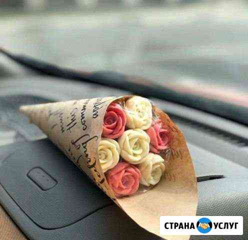 Шоколадные букеты роз Нижний Новгород