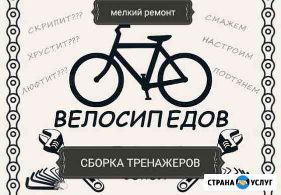 Сборка,ремонт велосипедов и тренажеров Курган