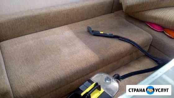 Профессиональная химчистка мягкой мебели Абакан