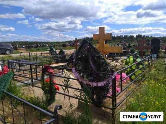 Оградка для могилы Сыктывкар