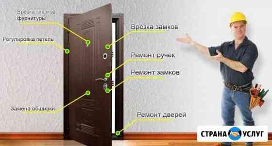 Ремонт, замена и врезка дверных замков Кострома