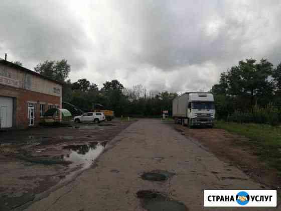 Стоянка для грузовых и легковых авто Мичуринск