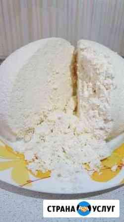 Домашний творог, сыр, масло, молоко Янтиково