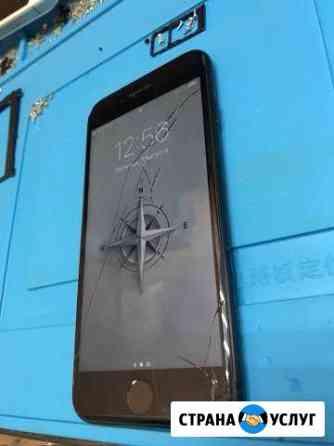 Замена стёкол дисплейного модуля iPhone, Samsung Петрозаводск