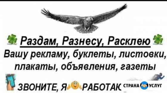Услуги промоутера Грозный