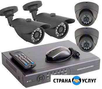 Установка видеонаблюдения, видеодомофонов,скуд, оп Уфа