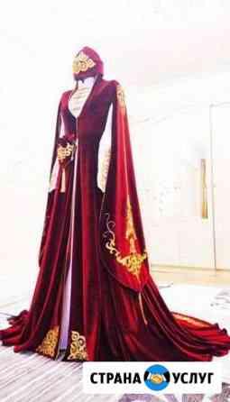Свадебное национальное платье Нальчик