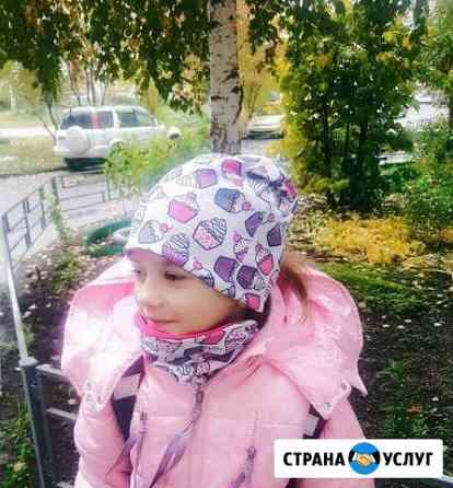 Шью комплекты-шапочка и снуд Северск