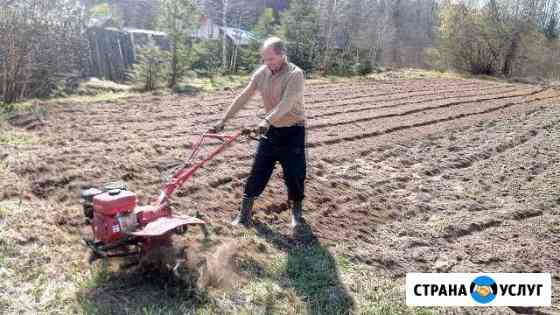Вспашка земли Кострома