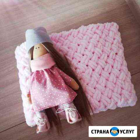 Детский плед из гипоалергенный пряжи Саранск