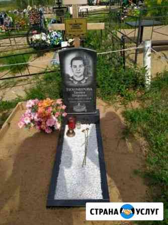 Памятники из натурального гранита без примесей Сафоново