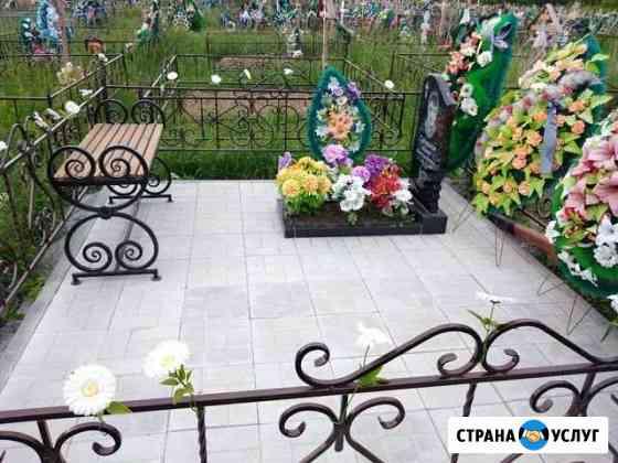 Благоустройство мест захоронения Бердск