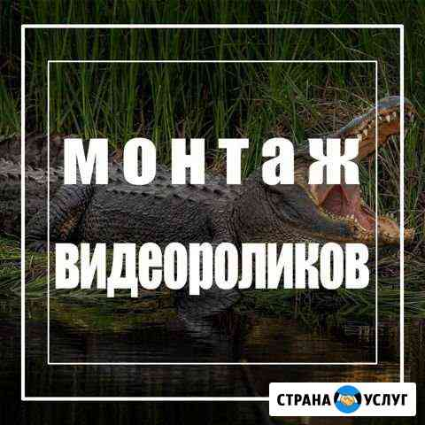 Монтаж, Редактирование видео Орск