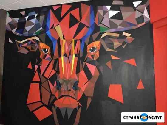 Роспись стен Тюмень