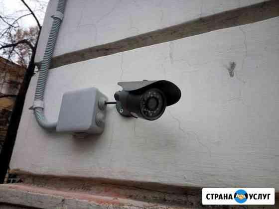 Установка систем видеонаблюдения Кривошеино