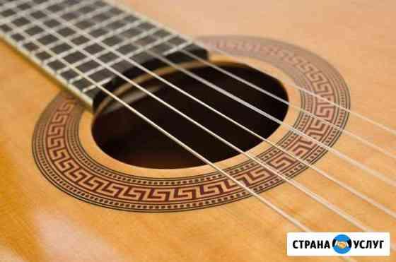 Замена струн на гитаре / укулеле Новосибирск