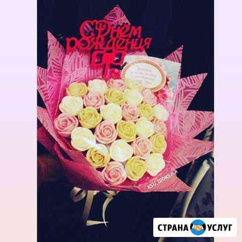 Букеты из шоколадных роз Нижний Новгород