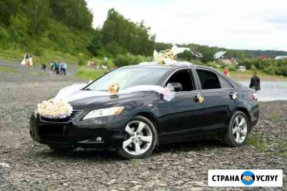 Оформление свадебного автомобиля Томск