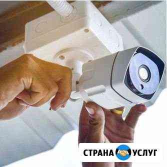 Установка и настройка видеокамер, видеонаблюдения Ижевск