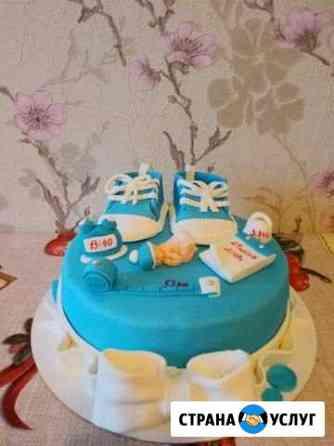 Детские тортики, капкейки, торты натуральные Нижний Новгород