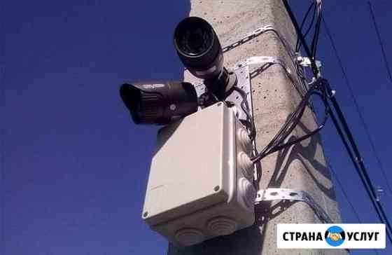 Комплекты видеонаблюдения, монтаж Ставрополь
