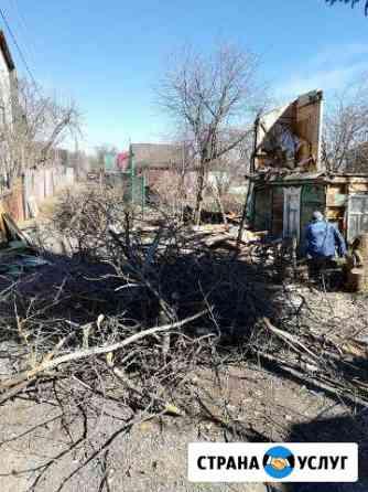 Расчистка участка,Снос домов Дач, Спил дерeвьев Нижний Новгород