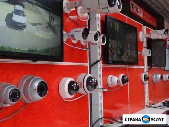 Видеонаблюдение и сигнализация установка и ремонт Каспийск