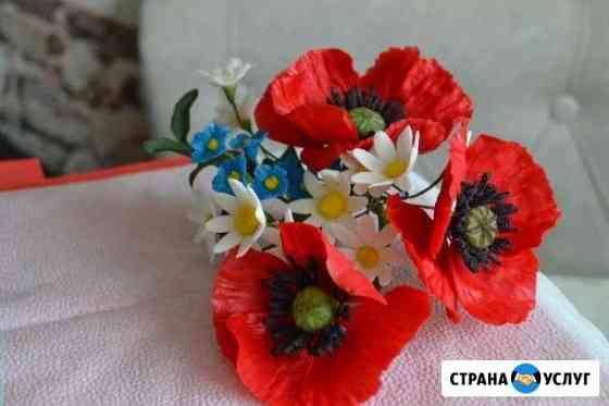 Сахарные цветы. Украшение для торта Пермь