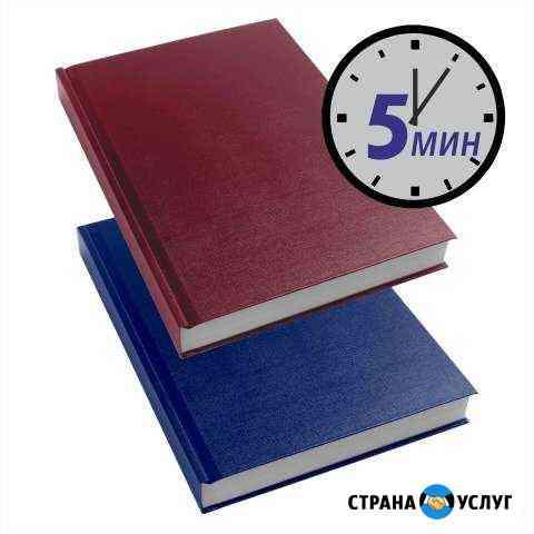 Переплет дипломов, печать, сканер/ксерокс Оренбург