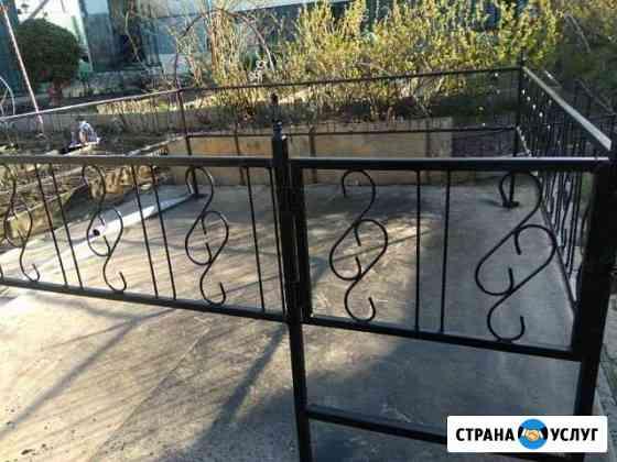 Ограда на могилу Нерехта