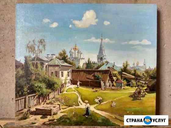 Картины маслом на заказ Шуя