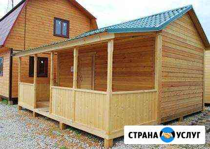 Строительство бань домов беседок Магадан