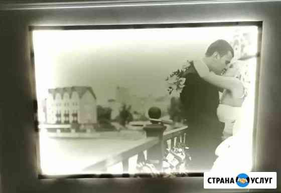 Фото на холсте с подсветкой (печать) Калининград