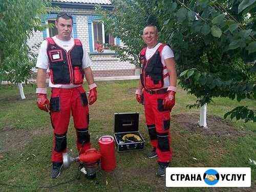 Сервисное обслуживание Очистка и ремонт септиков Псков