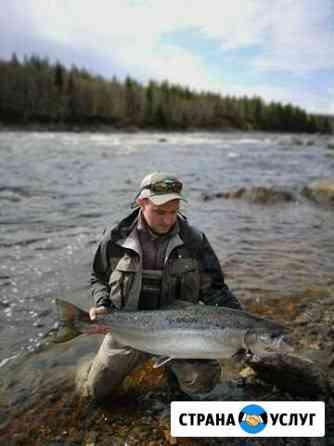 Организация рыбалки на Кольском Мурманск