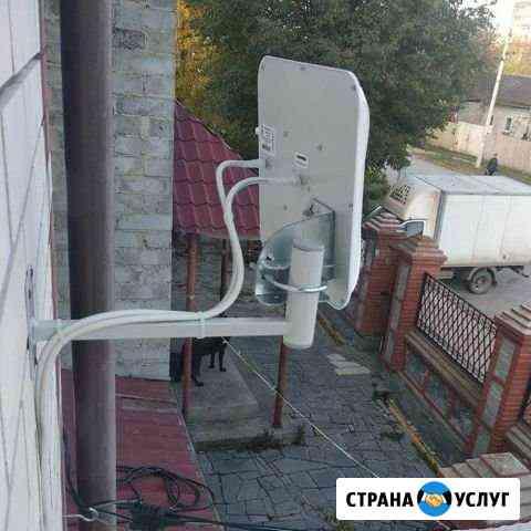 4G Интернет и спутниковое тв в частный дом/дача Ульяновск