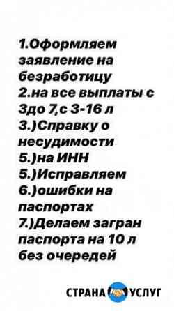 Заявление на все госуслуги Грозный