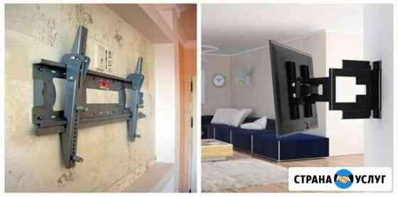 Установка и подвес телевизора с любой диагональю Владикавказ