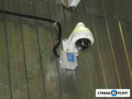 Монтаж видеонаблюдения / просмотр через интернет Пермь